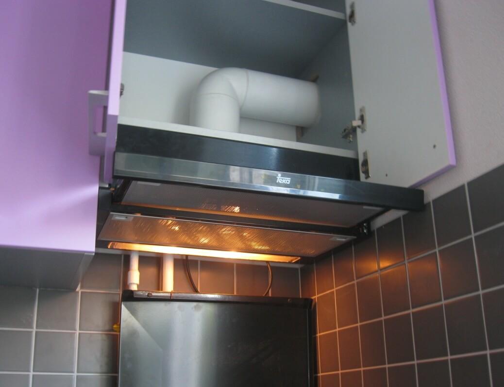 Вытяжной шкаф на кухню своими руками
